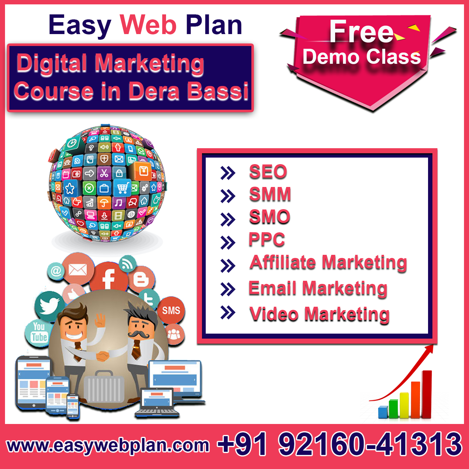 Digital Marketing Course in Derabassi