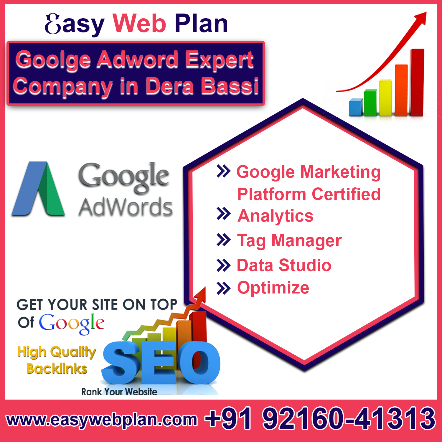Google Adwords Expert in Derabassi