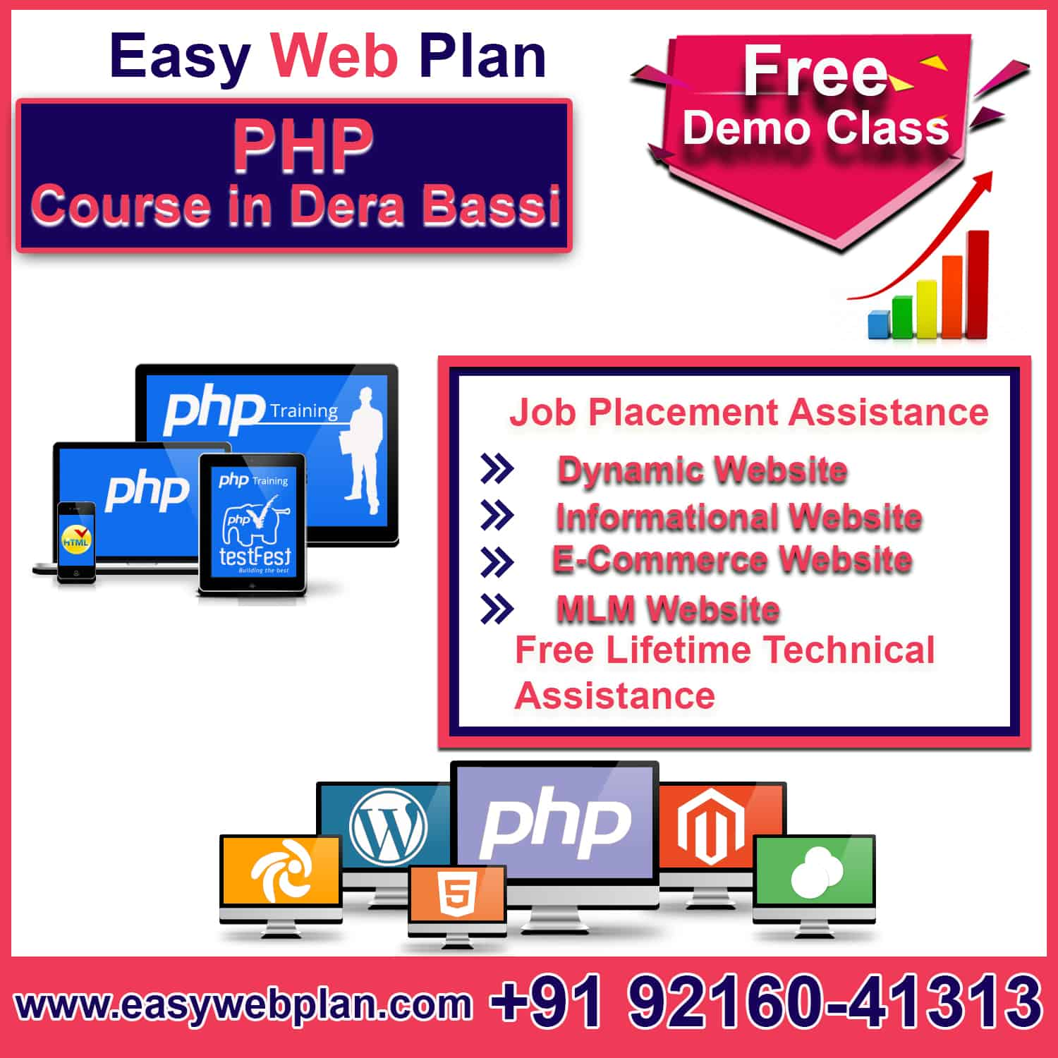 PHP Course in Derabassi